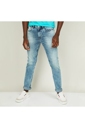 U.S. Polo Assn. . Men Stonewashed Skinny Fit Jeans