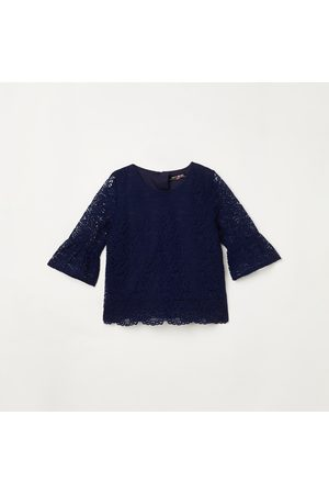 Pretty Me Girls Bell Sleeves Lace Top