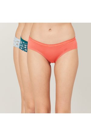 Ginger Women Printed Hipster Panties - Pack of 3
