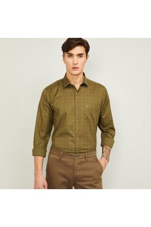 Allen Solly Men Checked Full Sleeves Slim Fit Casual Shirt