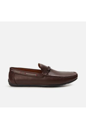 Code Men Textured Casual Penny Loafers