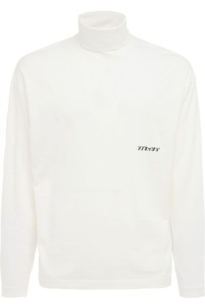 AMBUSH Men Turtlenecks - Logo Cotton Jersey Turtleneck T-shirt