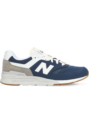 New Balance 997 Suede & Mesh Lace-up Sneakers