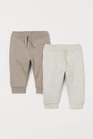 H&M Girls Joggers - 2-pack cotton joggers