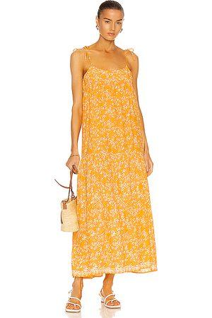 Natalie Martin Women Maxi Dresses - Melanie Dress in Bamboo Sun