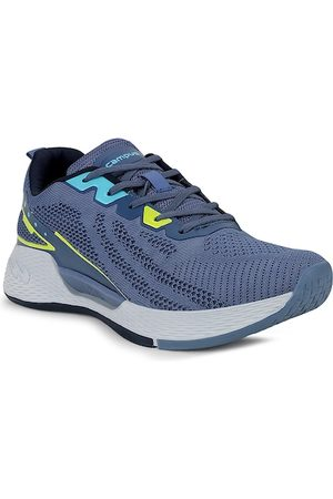 Campus Men Blue Mesh Running Shoes