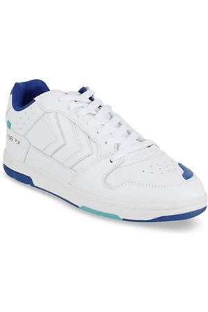 Hummel Unisex Perforations Leather Sneakers Casual Shoes