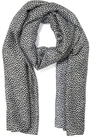 Forever New Women Black & White Printed Scarf