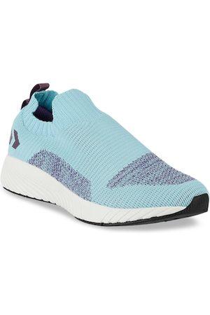 Hummel Women Woven Design Slip-On Sneakers