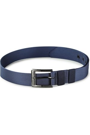 Kastner Men Blue Textured Belt