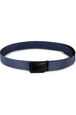 Kastner Men Blue & Black Textured Belt