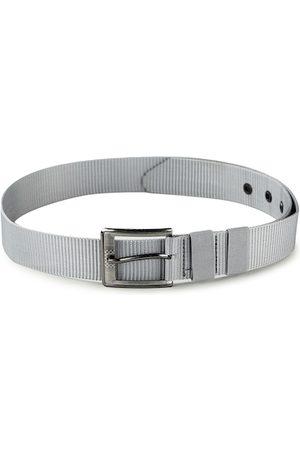 Kastner Men Silver-Toned Textured Belt