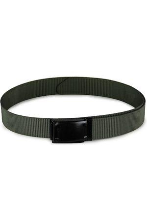 Kastner Men Green & Black Woven Design Belt