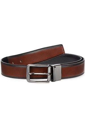 Saks Fifth Avenue COLLECTION Reversible Leather Belt