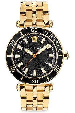 VERSACE Men Bracelets - Greca Sport Goldtone Stainless Steel Bracelet Watch