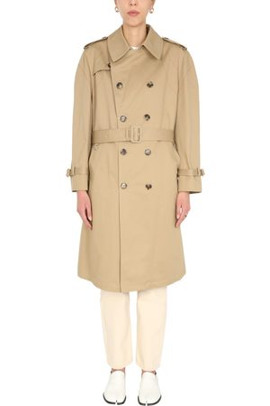 Maison Margiela Women Trench Coats - DOUBLE-BREASTED TRENCH