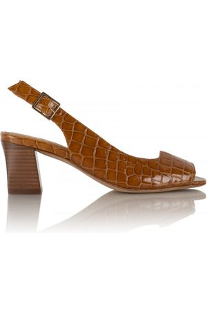Bobbies Women Sandals - Carmen - Wild Cognac