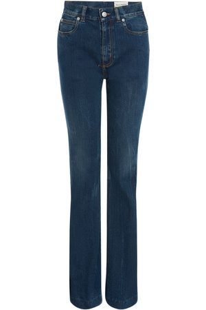 Alexander McQueen Stretch Cotton Denim Jeans