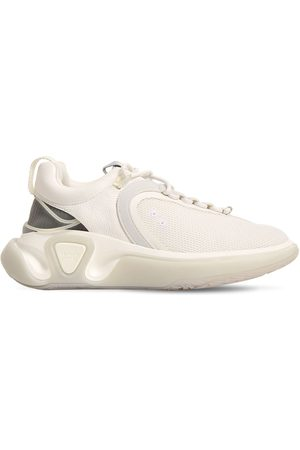 Balmain B Runner Leather Mesh Low Top Sneakers
