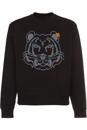 Kenzo Tiger Printed Cotton Sweatshirt
