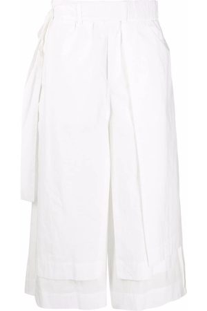 CRAIG GREEN Layered tied-waist trousers