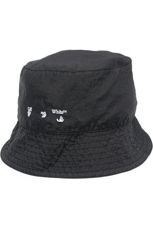 OFF-WHITE Men Hats - Logo-print bucket hat