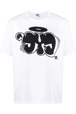 JUNYA WATANABE Graffiti-print T-shirt
