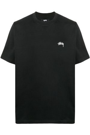 STUSSY Men Short Sleeve - Logo crew-neck T-shirt
