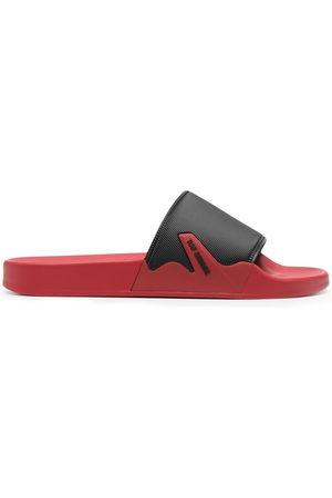 RAF SIMONS Men Sandals - Contrasting strap slides