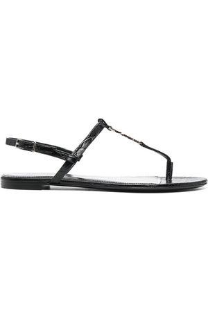 Saint Laurent Cassandra open-toe sandals