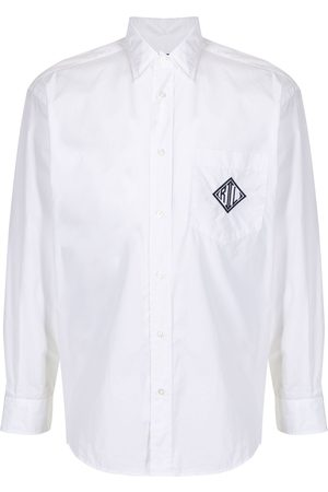 Ralph Lauren Men Long Sleeve - Embroidered logo shirt