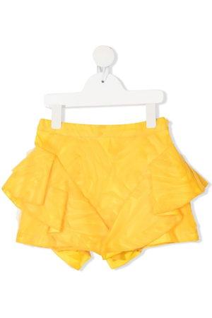 CAROLINE BOSMANS Girls Skirts - Asymmetric tulle mini skirt