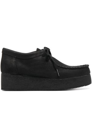 Clarks Platform lace-up shoes