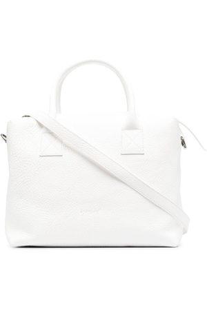 MARSÈLL Grained leather box bag