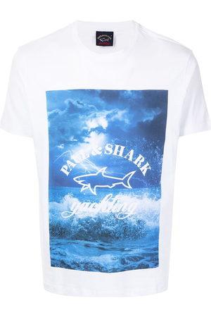 Paul & Shark Graphic-print short-sleeved T-shirt