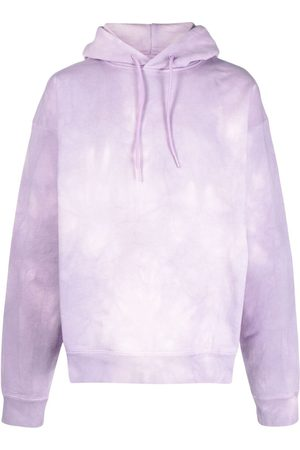 MARTINE ROSE Tie dye-print cotton hoodie