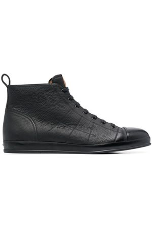 Bally Men Sneakers - Condros leather high-top trainers