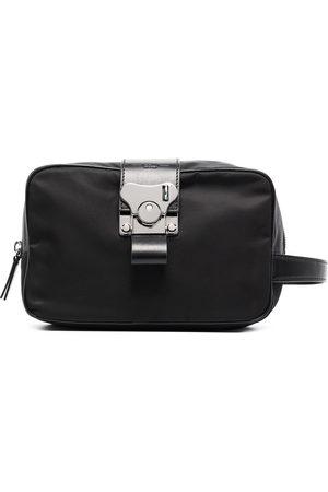 FPM Milano Leather-trim wash bag
