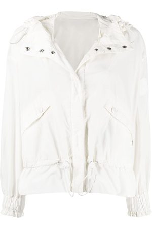 Moncler Women Jackets - Albireo hooded jacket