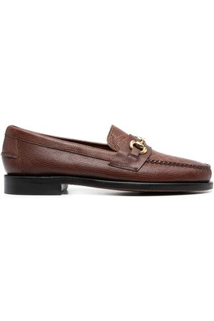 SEBAGO Crocodile-effect loafers