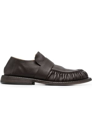 MARSÈLL Men Loafers - Estiva ruched leather loafers