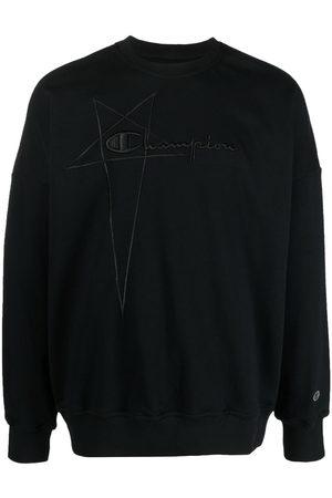 Rick Owens Logo-embroidered pullover sweatshirt