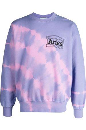 ARIES Tie-dye print jumper