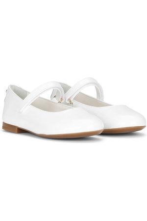 Dolce & Gabbana Girls Ballerinas - Round-toe ballerina shoes