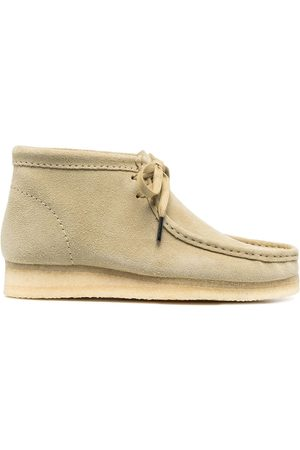 Clarks Wallabee suede ankle boots