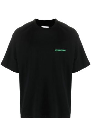 Opening Ceremony WORD TORCH REGULAR T-SHIRT APRICOT