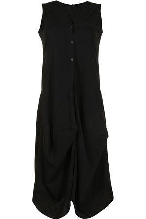 GOEN.J Draped sleeveless dress