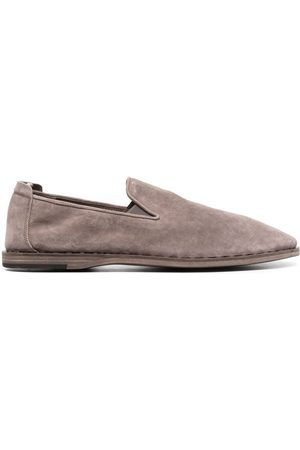 Officine creative Slip-on suede loafers