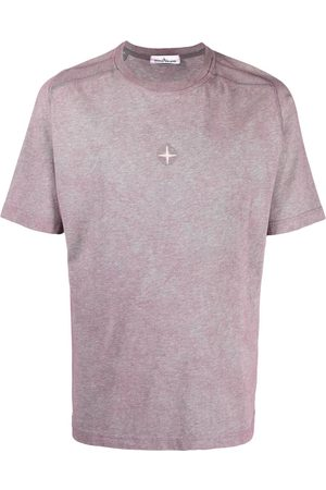 Stone Island Compass logo-embroidered T-shirt