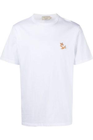 Maison Kitsuné Logo-detail T-shirt